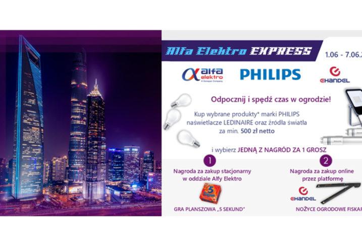 """Alfa Elektro EXPRESS – promocja """"Odpocznij i spędź czas w ogrodzie"""""""