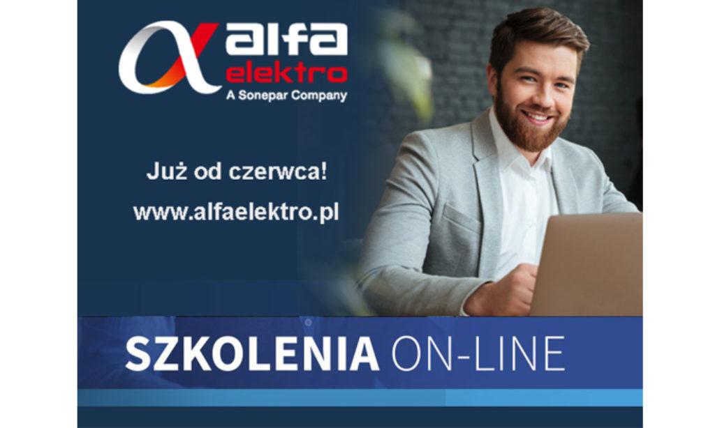 Alfa Elektro rozpoczęła cykl szkoleń on-line